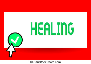 son, encore, ou, business, processus, photo, projection, écriture, portion, sain, blessé, texte, conceptuel, confection, main, healing., devenir