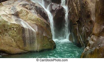 son, naturel, chute eau, vietnam