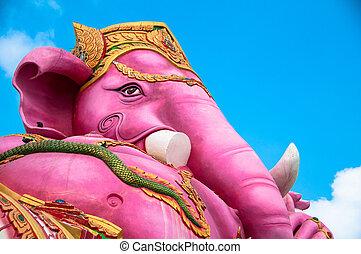 elephant headed god - Son of siva, elephant headed god