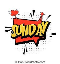 son, semaine, art, pop, dimanche, effets, fin, comique, ...