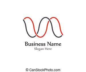 son, vectors, pouls, vague, logo, ligne