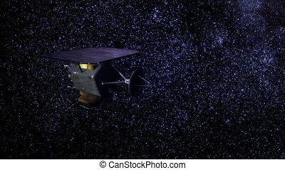 sonde, mission espace, profond, impact