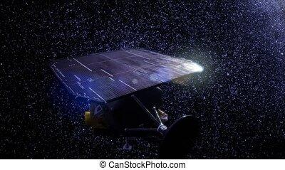 sonde spatiale, mission, profond, impact