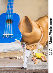 Songbook trip on a wooden