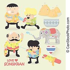 songkran, 祝祭