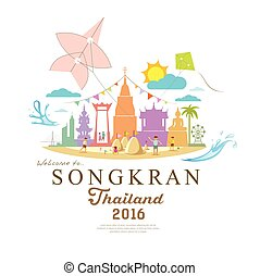 Songkran Festival Period of April