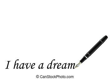 sonho, ter