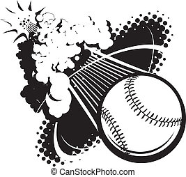 Sonic Boom Baseball - A flying baseball breaking the sound...