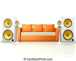 sonido, diseño