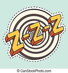 sonido, sueño, zzz, zumm