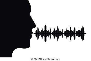 sonido, voz
