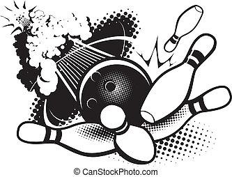sonique, boom, bowling