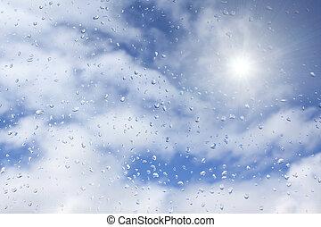 sonne, regen
