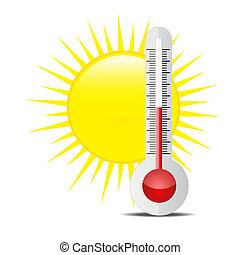 Sonne Temperatur Celsius