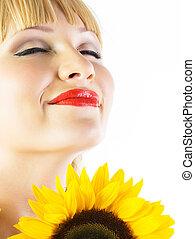 sonnenblume, m�dchen