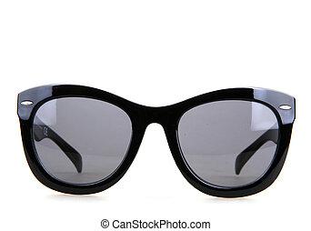 sonnenbrille, freigestellt, weiß, hintergrund