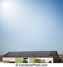 Awesome Sonnenkollektoren, Betriebe, Haus, Für, Elektrizität, Generation
