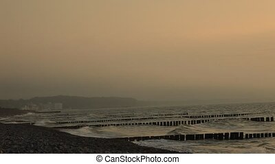 Sonnenuntergang - Ostsee