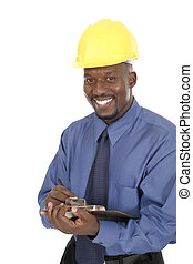 sonreír feliz, arquitecto, ingeniero, 1