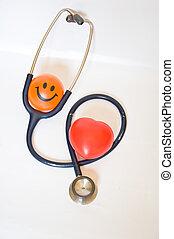 sonriente, buena salud
