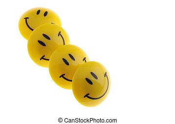 sonrisa, fila
