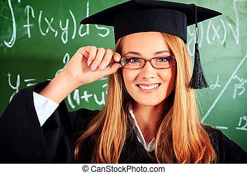 sonrisa, graduación