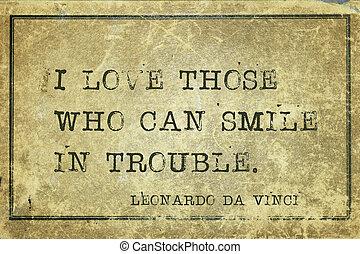 sonrisa, problema, davinci