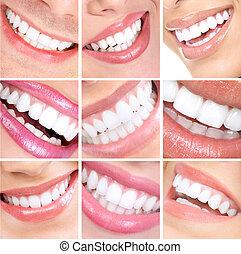 sonrisa, teeth.
