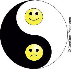 sonrisa, yang de yin