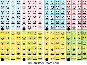sonrisas, colección