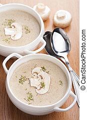 sopa, champignon