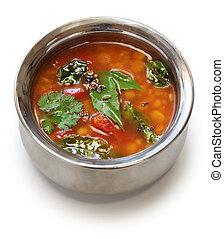 sopa de tomate, indio, rasam, sur