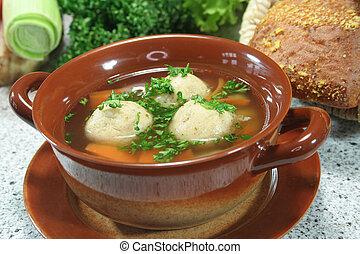 sopa, médula