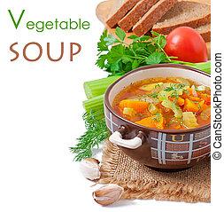sopa vegetal