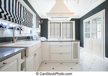 Sophisitacted kitchen - Picture of elegant sophisticated...