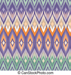 sophisticated ikat vector
