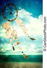 soplar, viento, conchas de mar