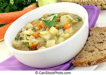 soppa, kål
