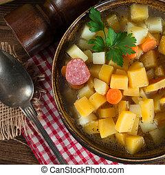 soppa, kålrot