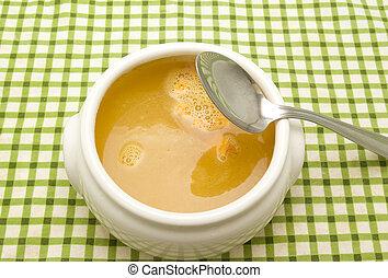soppa, pumpa
