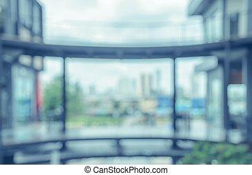 soppingcenter, verwischen, abstrakt, hintergrund