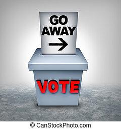 soppressione, votante