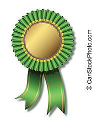 sopra, verde bianco, premio