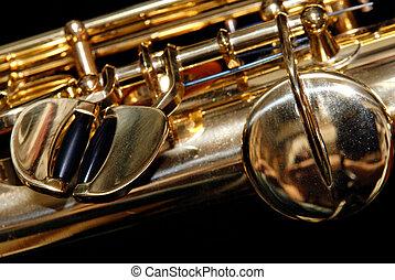 Soprano Saxophone Detail