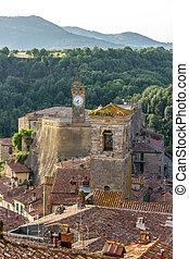 Sorano city italy