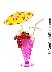 Sorbet ice cream