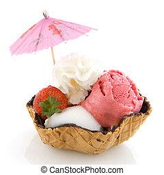 sorbete, helado
