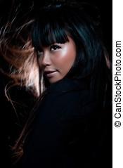 sorcière, asiatique
