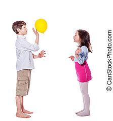 sorella, fratello, gioco