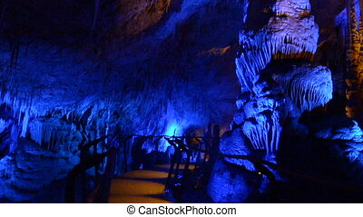 Soreq Avshalom Stalactites Cave - Israel.It's is a 5,000 m2...